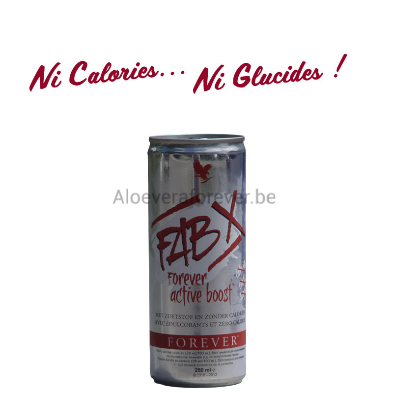 Canette de FabX Active Boost Energy Drink