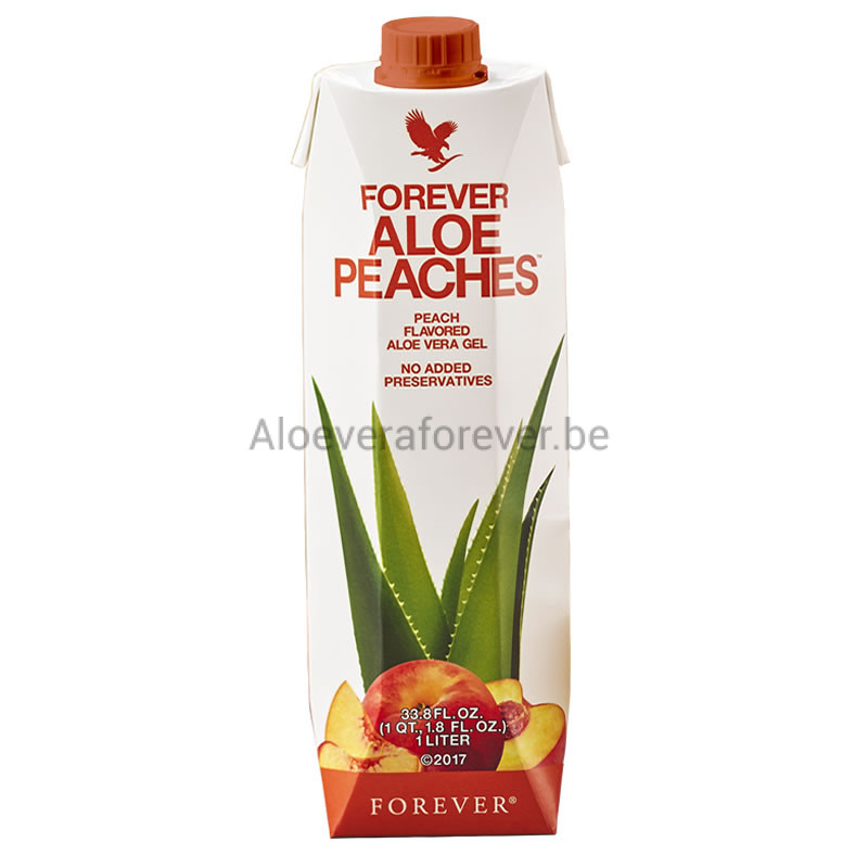 Forever Aloe Peaches Gel Tetrapack