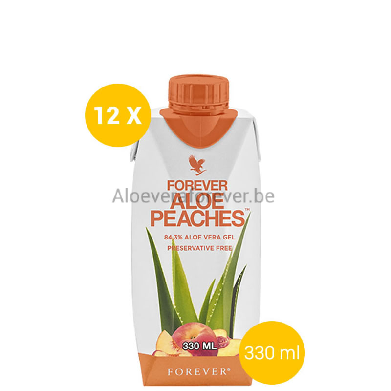 Forever Aloe Peaches Mini