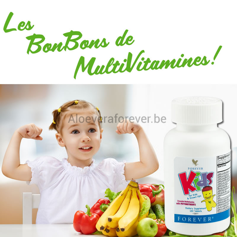 Forever Kids Flacon Multivitamines