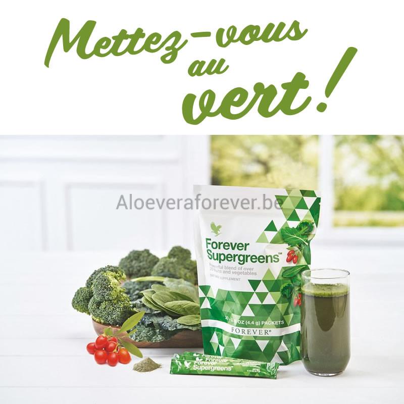 Forever Supergreens Sachet 30 dosettes
