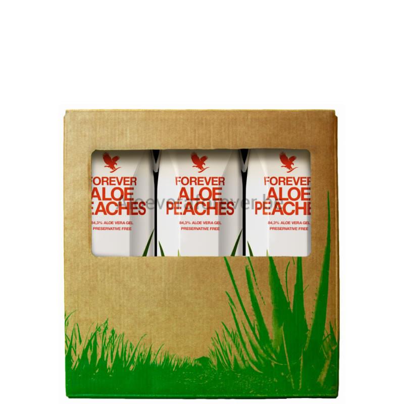 Tri-Pack Aloe Peaches