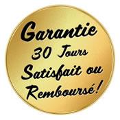 Médaille 30 jours satisfait ou remboursé
